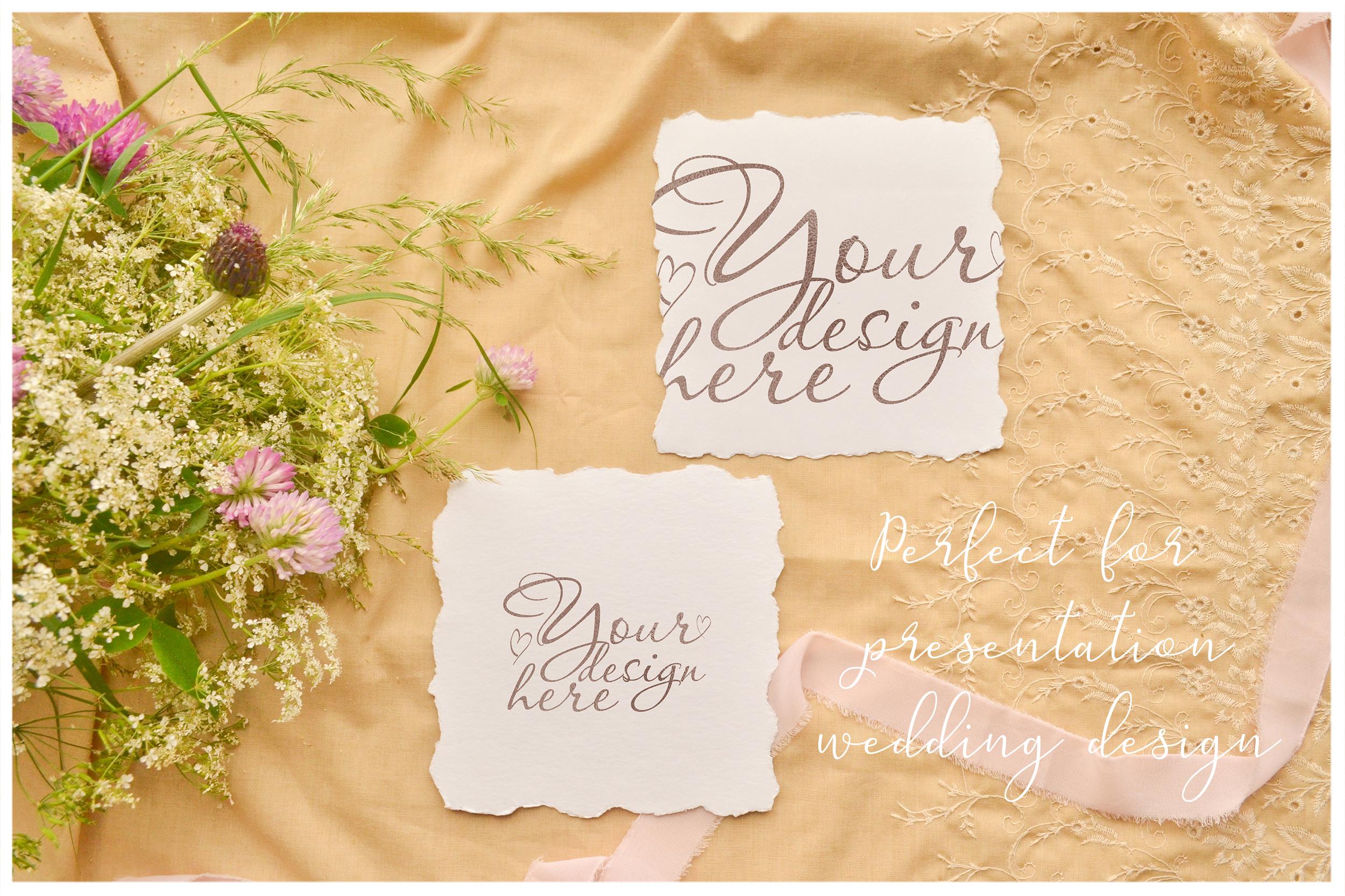 Honey Meadow. Wedding mockups & stock photo bundle example image 13