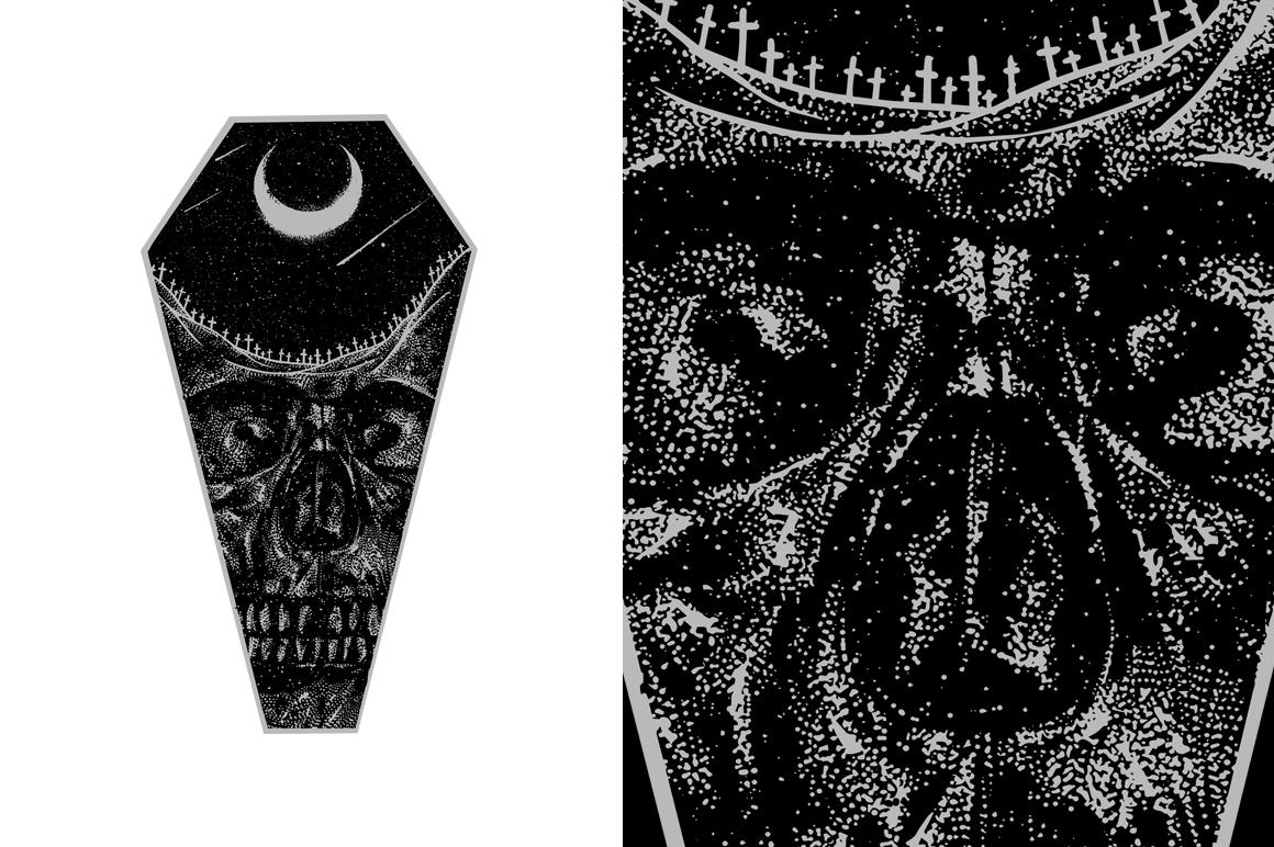 20 VECTOR skull illustration example image 14