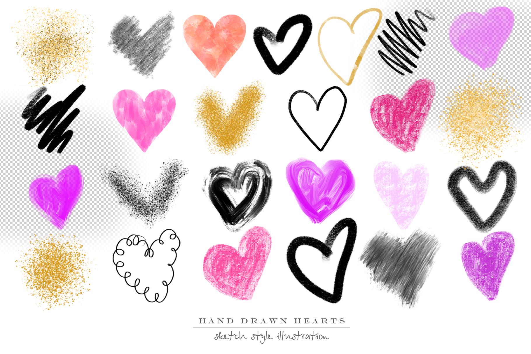 Stylish hearts example image 5
