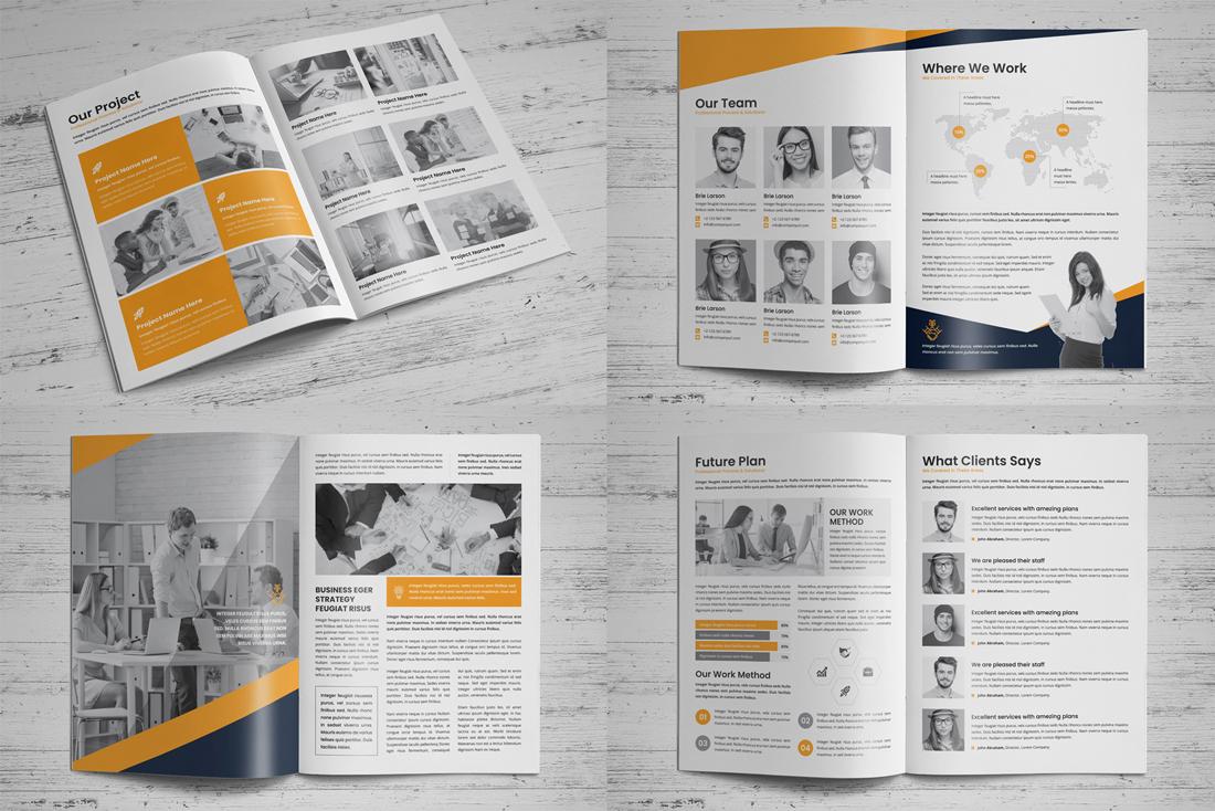 Company Profile Bundle example image 13