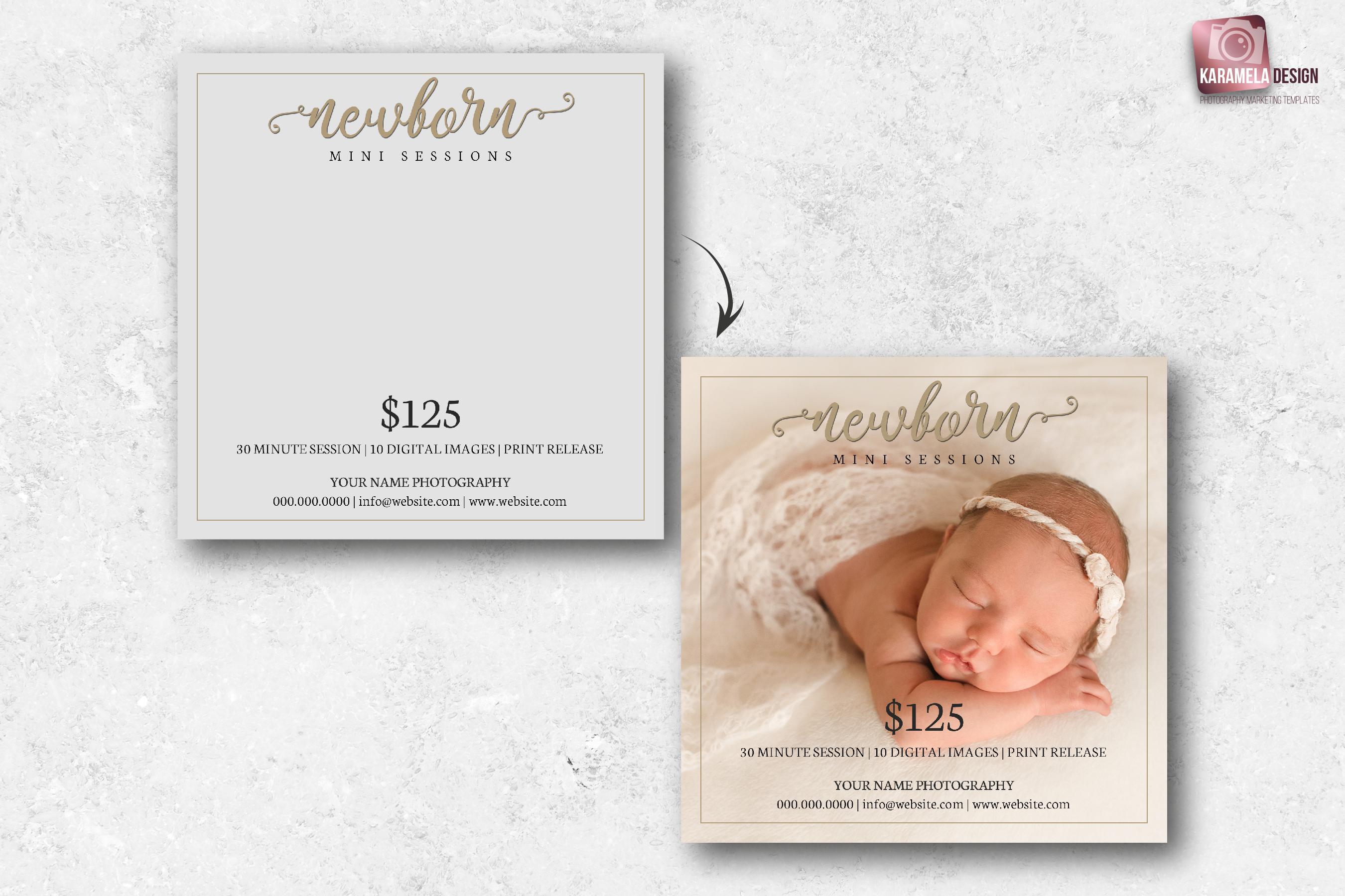 Newborn Mini Sessions Template example image 2
