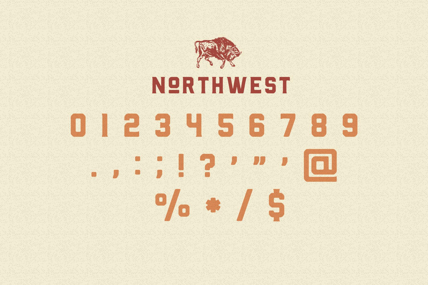 The Northwest - Modern Vintage Type Family example image 5