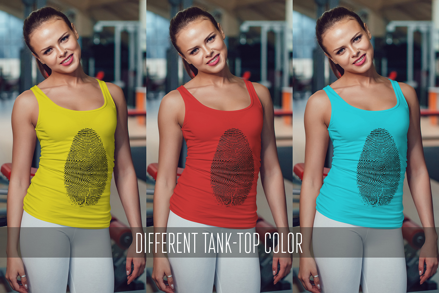 Sport Tank-Top Mock-Up Vol.1 2017 example image 16