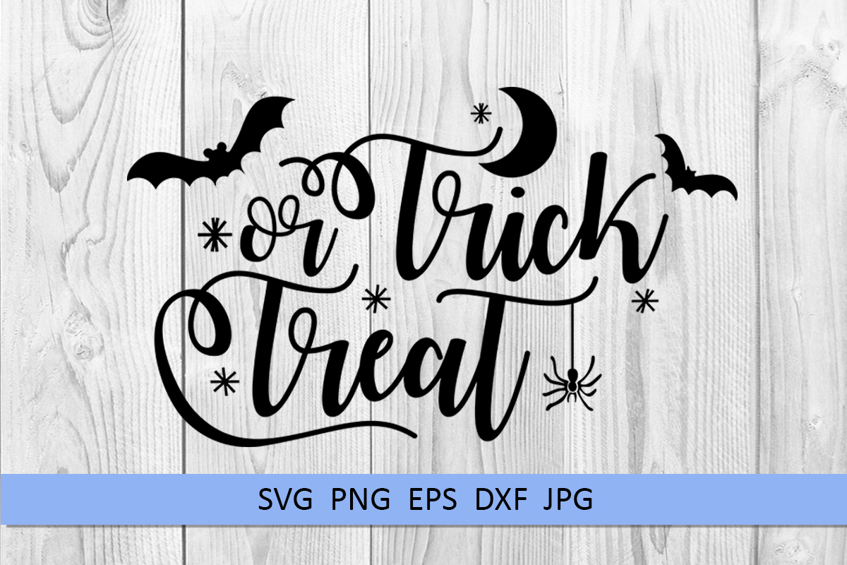Halloween svg Trick or treat svg Boo svg Spider web svg example image 5