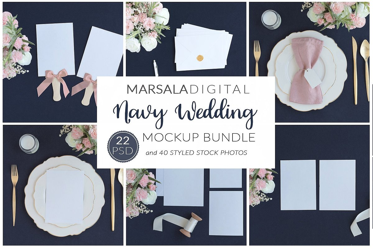 Wedding Mockup Bundle 400 Massive Wedding Mockups Bundle example image 8