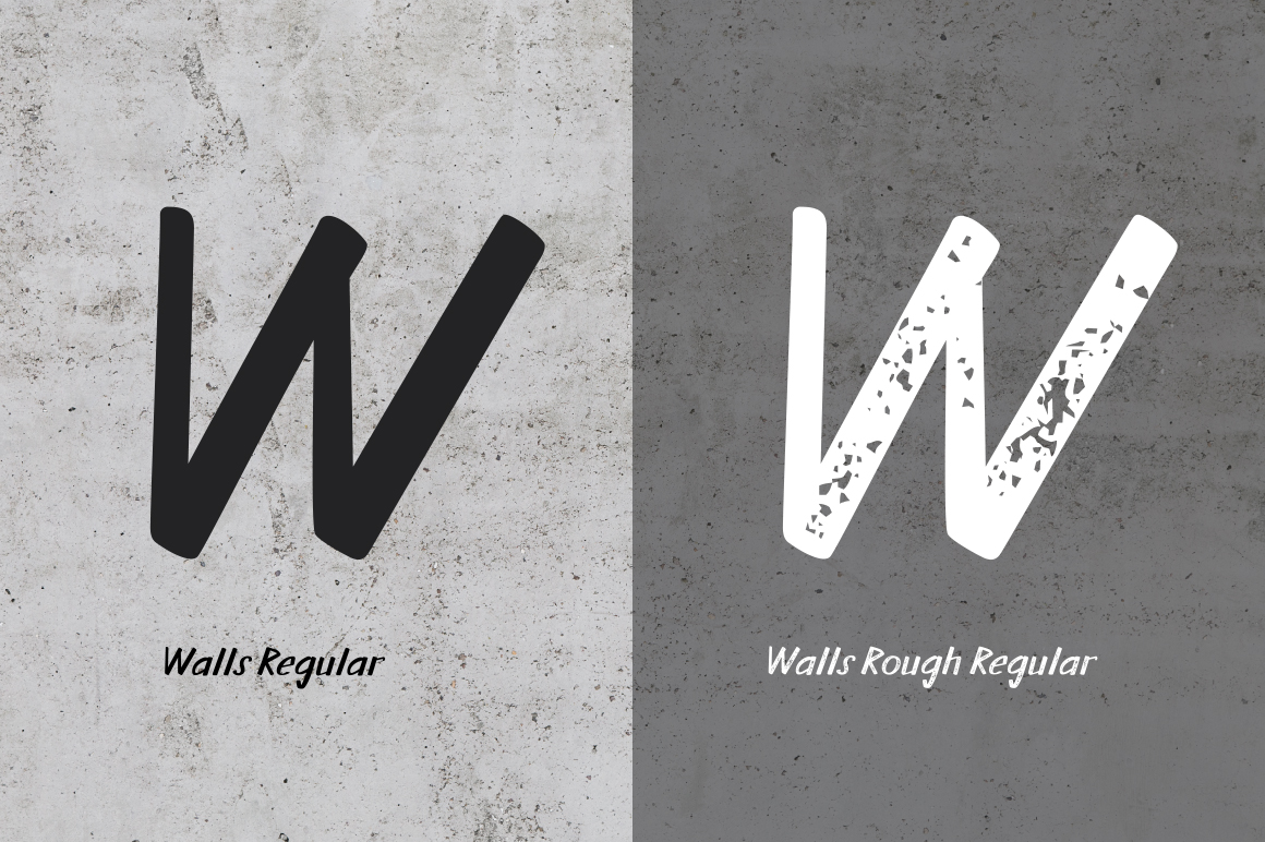 Walls Regular & Walls Rough Regular example image 5