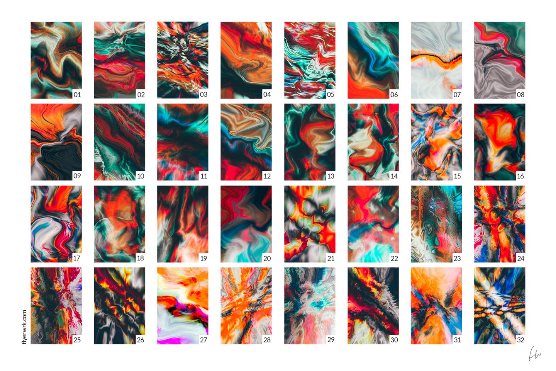 Phenomena - 32 Psychedelic Textures example image 2