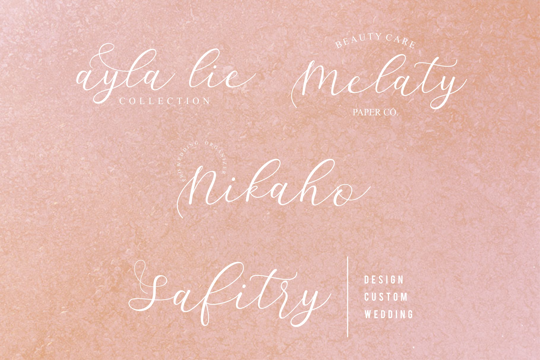 Sathyn Lovely Script Font example image 7