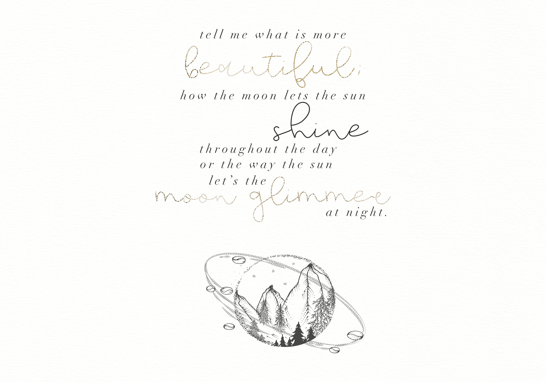 Moonwake - Handwritten Font example image 4