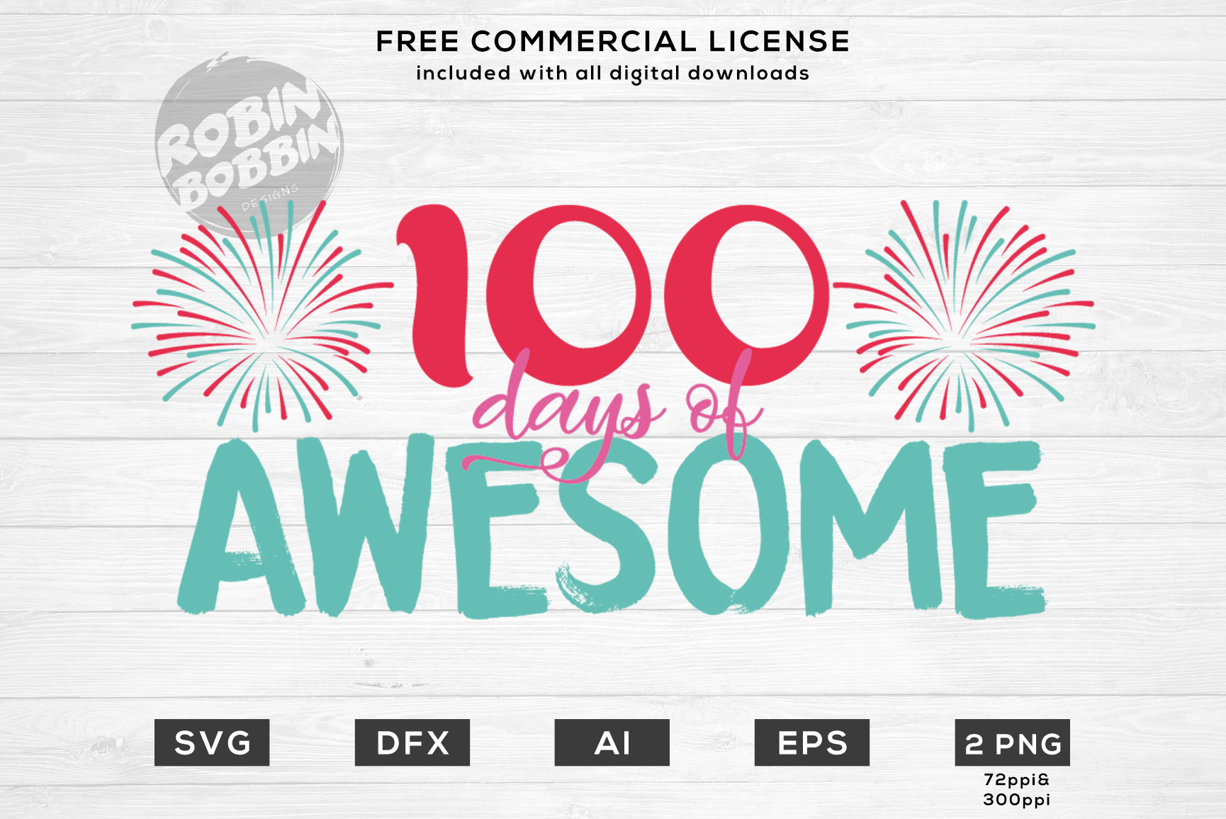 100 Days of Awesome Design for T-Shirt, Hoodies, Mugs example image 1