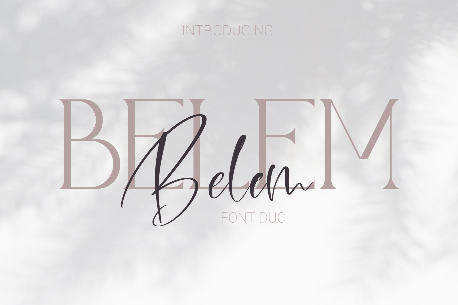 Belem Font Duo example image 1