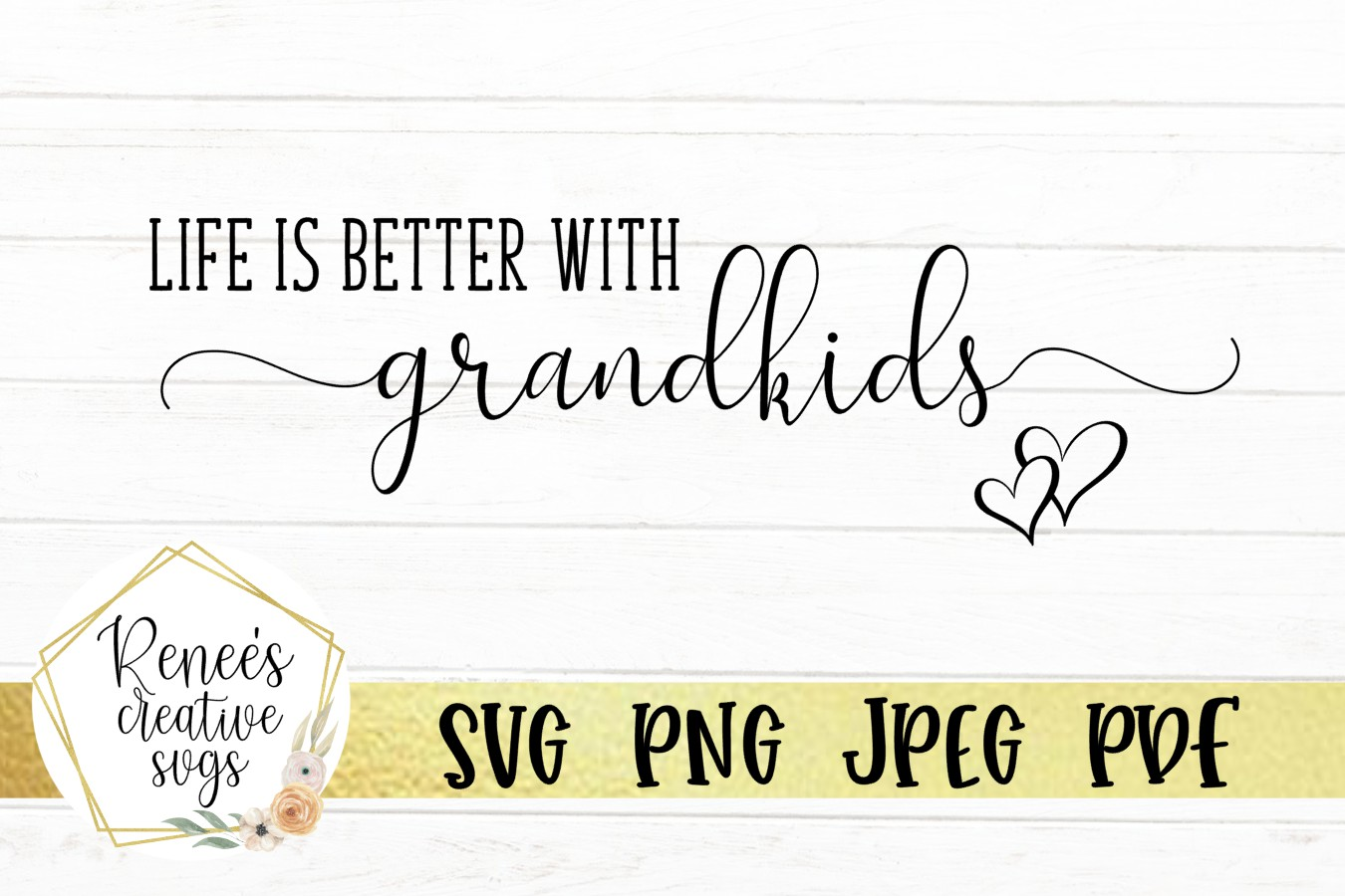 Life is better with grandkids  GrandKids SVG   SVG Files example image 2