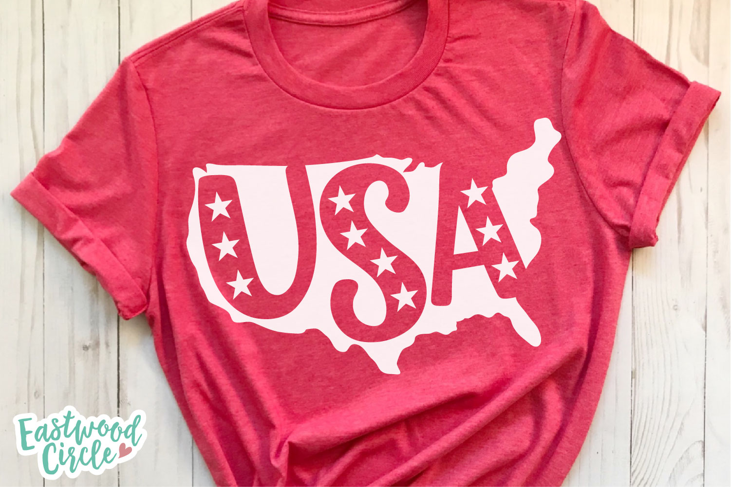 USA Silhouette - A 4th of July SVG Cut File example image 3