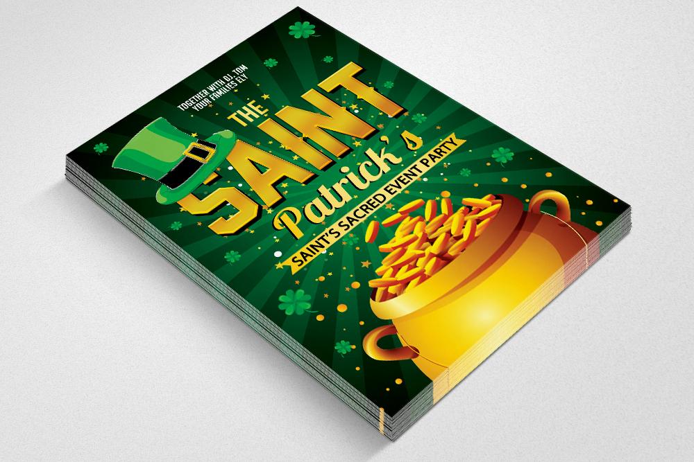 Saint Patricks Day Flyer example image 2