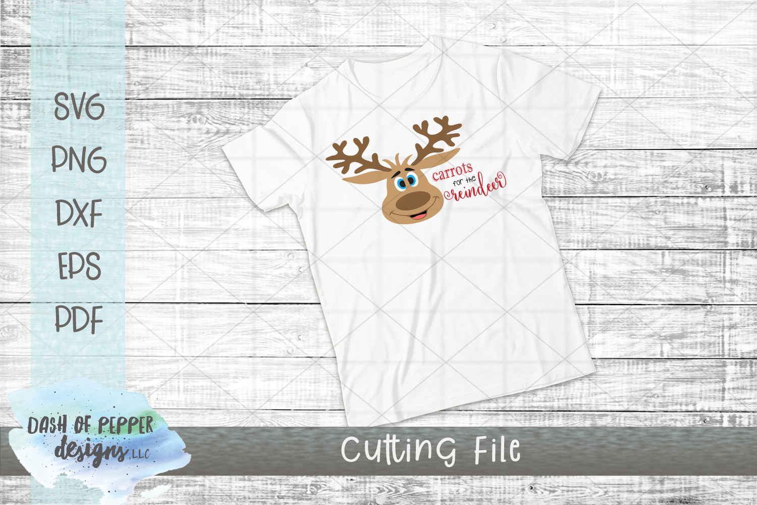 Carrots for the Reindeer SVG - A Christmas SVG example image 2