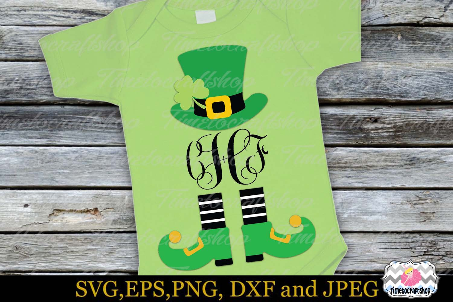St Patrick's Day Little Mister Lucky Charm example image 1