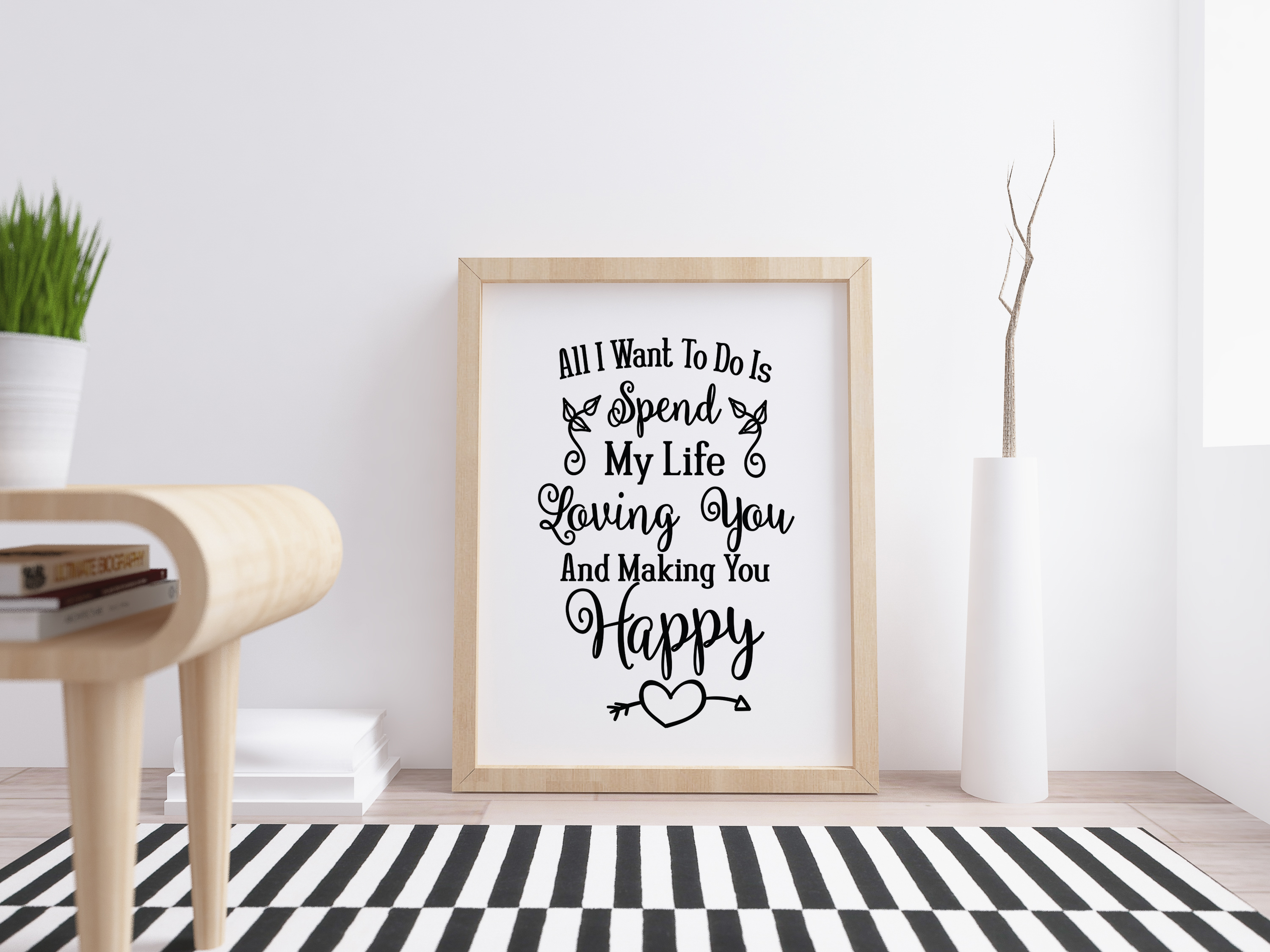 I want to make you happy, love svg, cut file, dxf, eps, svg example image 2