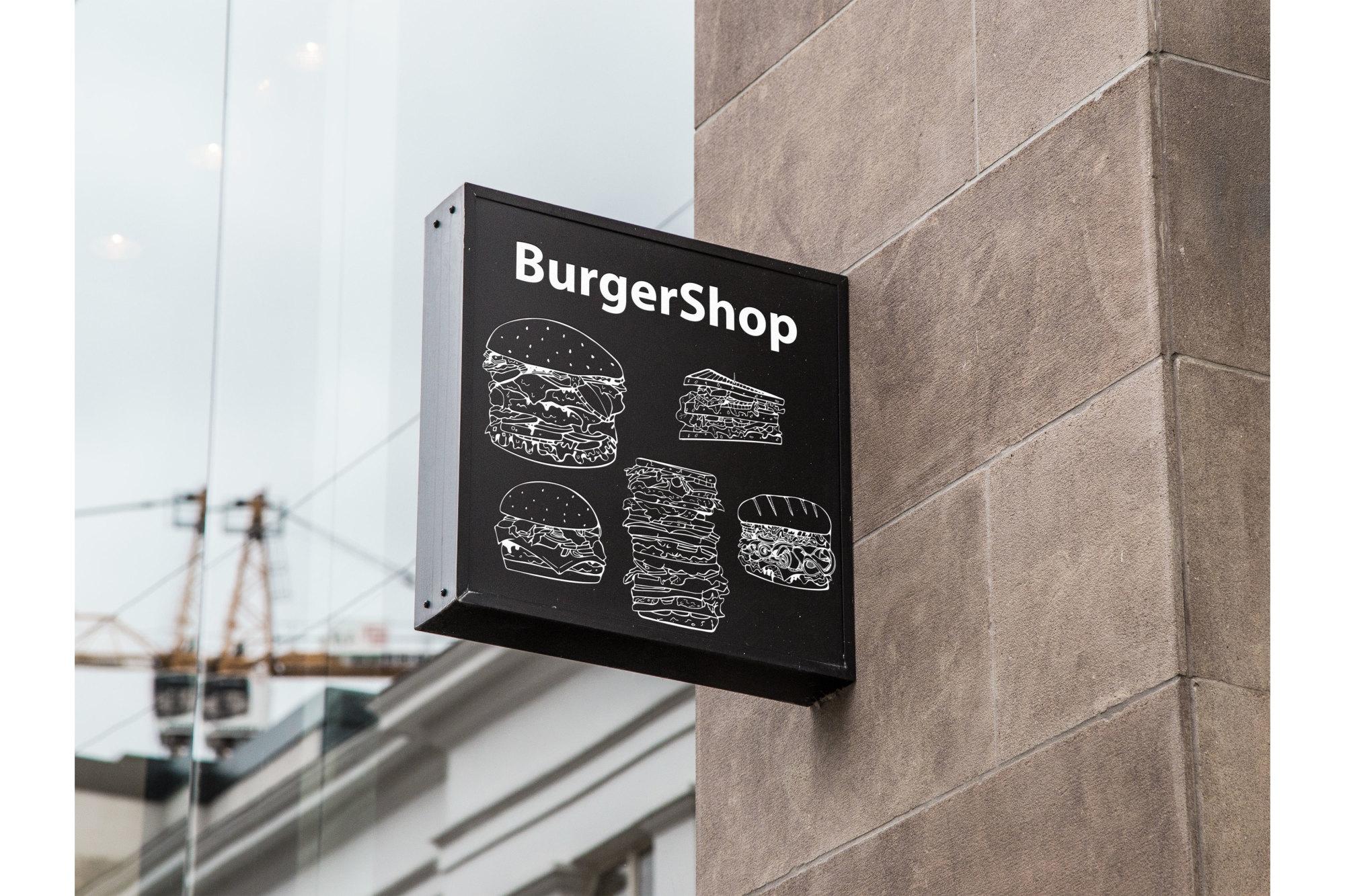 Fast food set. + Seamless patterns example image 7