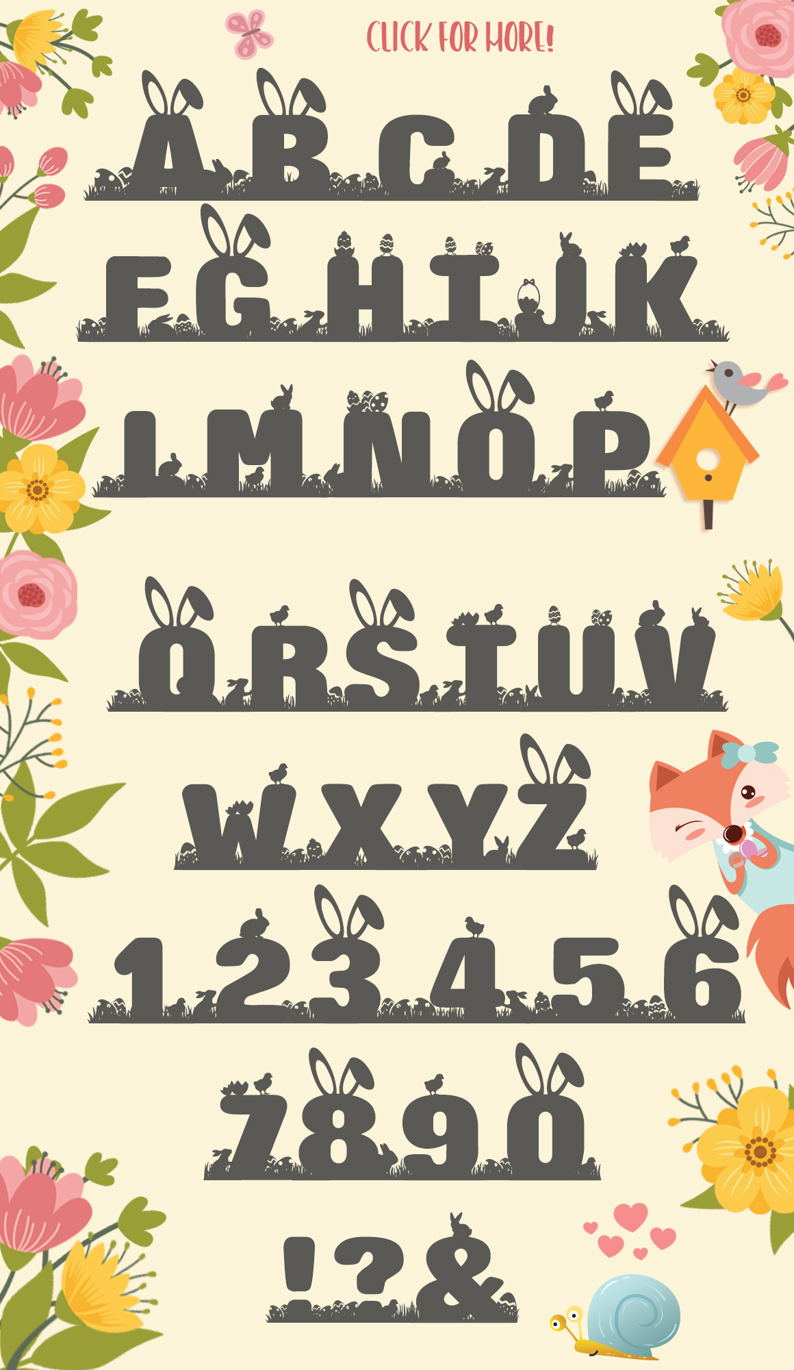 Easter Special Easter Egg Hunt Font example image 4