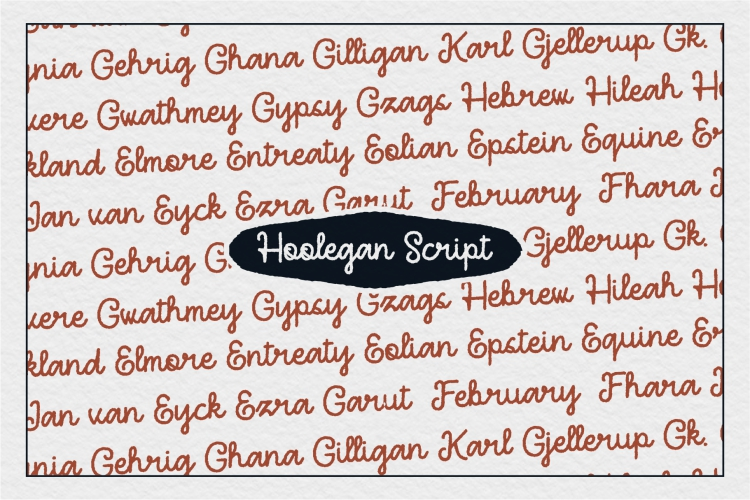 Hoolegan Font Duo example image 7