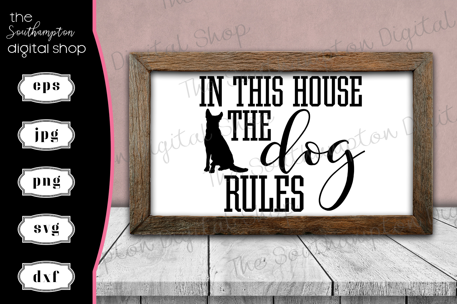 In This House the Dog Rules example image 1