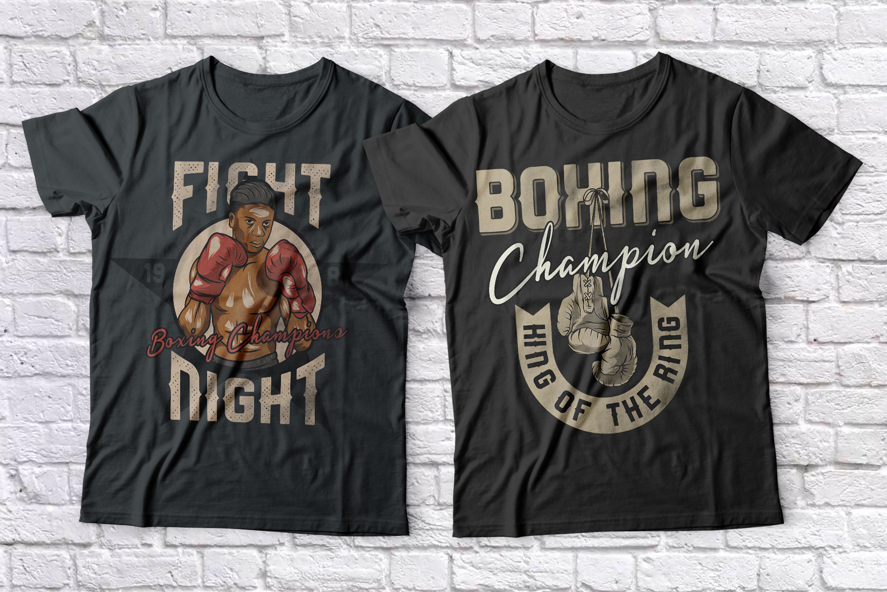 Heavy Boxing. Font Duo example image 7