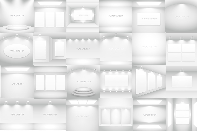 Studio Background Bundle - 50 Vector Designs example image 2