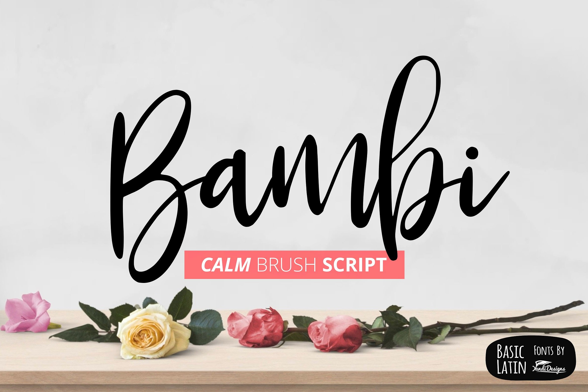 Bambi Font New Extras ! example image 8