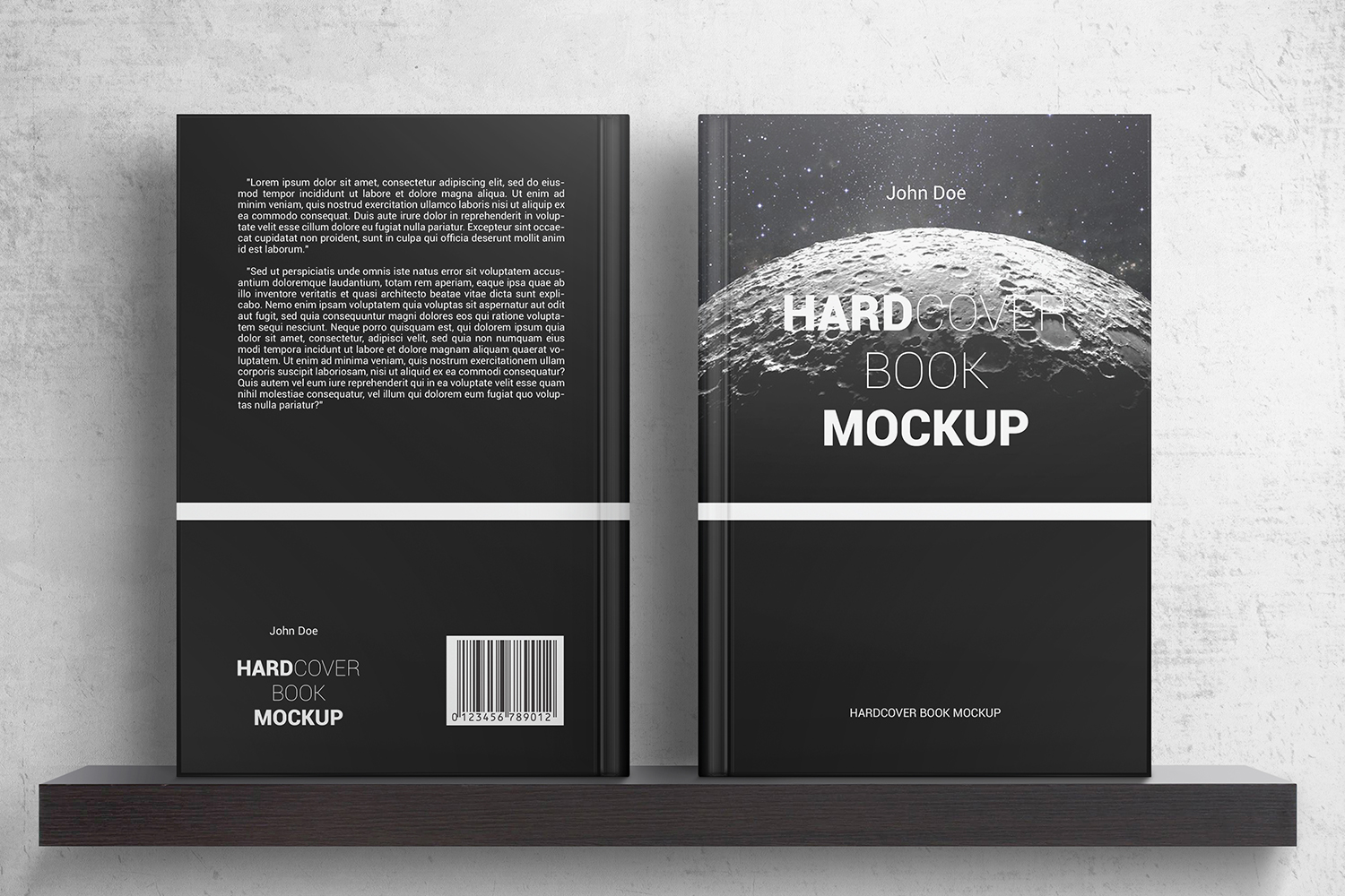 Hardcover Book Mockups example image 2
