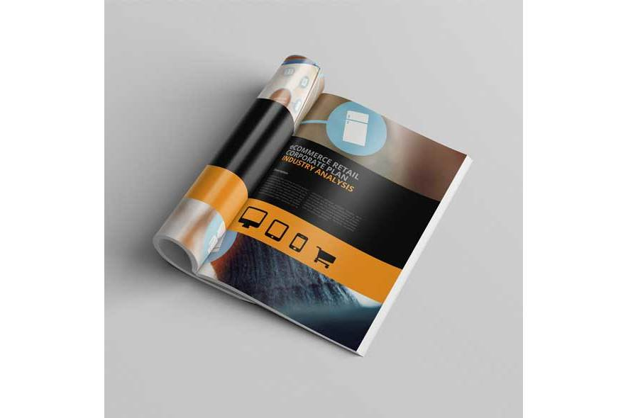 eCommerce Retail Corporate Plan Template example image 4