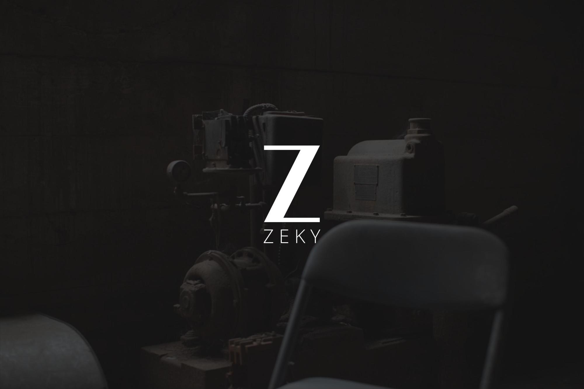 Zeky Typeface Font example image 9