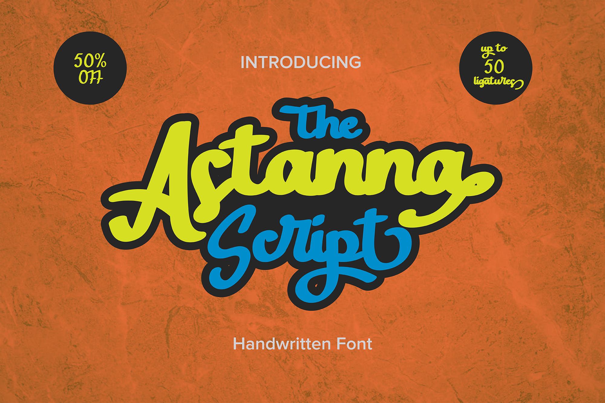 The Astanna Script example image 1
