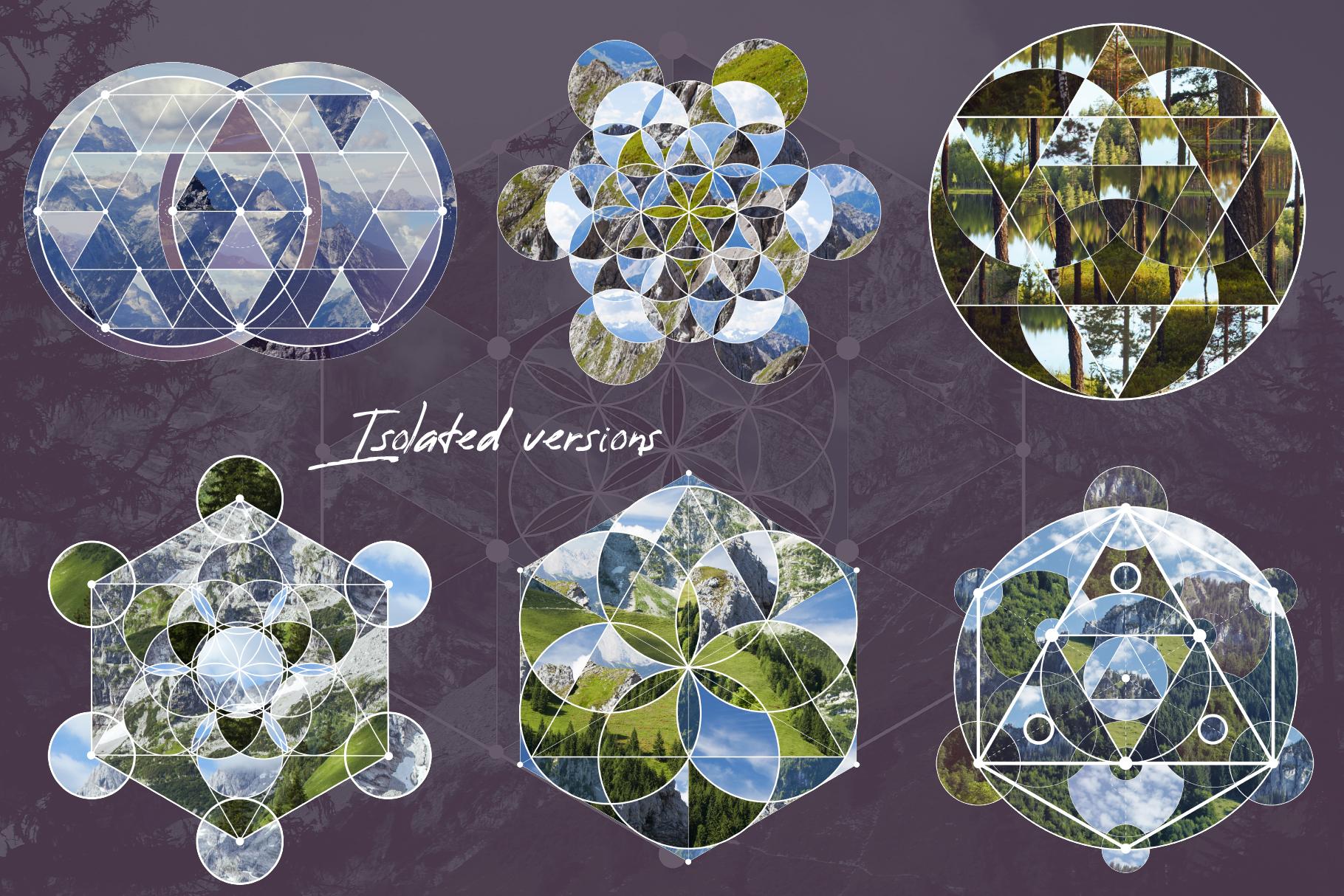 Sacred geometry unity of nature example image 10