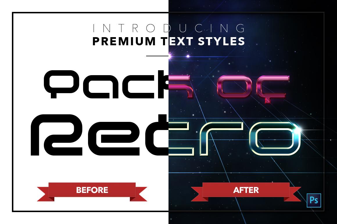 Retro #1 - 20 Text Styles example image 22