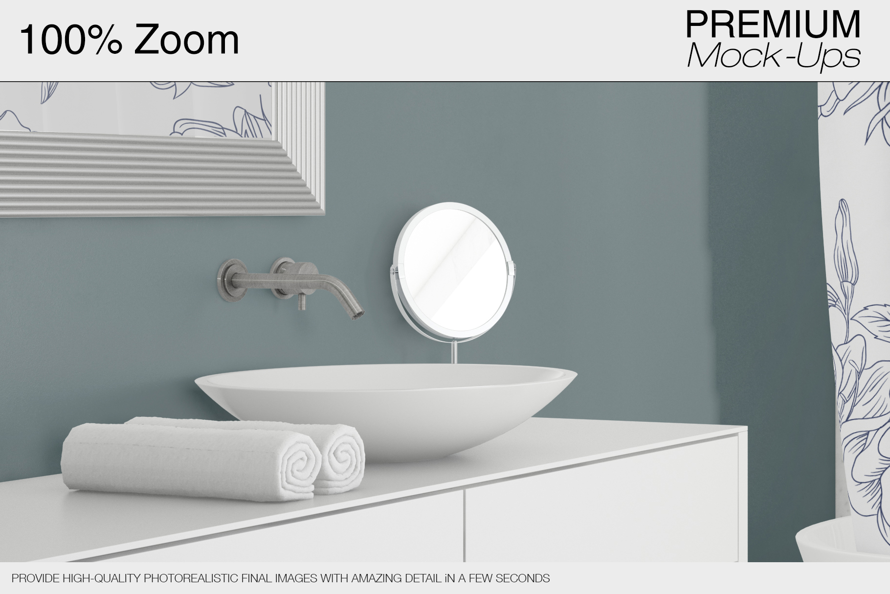 Shower Curtain Mockup Pack example image 10