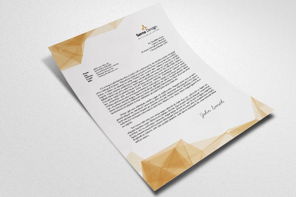Business Letterheads editable File example image 2
