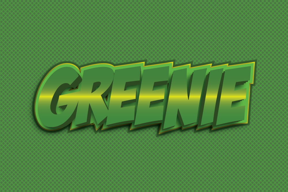 10 Game Title Graphic Style for Adobe Illustrator example image 9