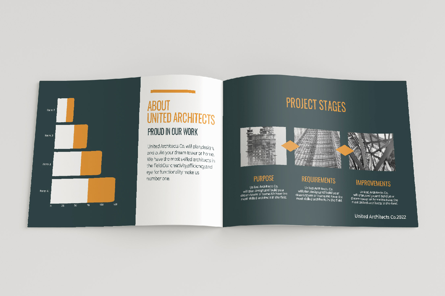 Architecture Presentation - A5-26 PSD Templates example image 12
