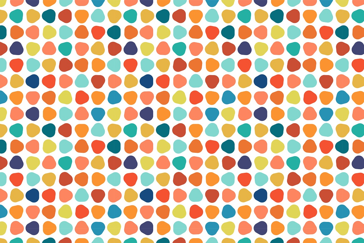 Colorful seamless patterns. example image 17