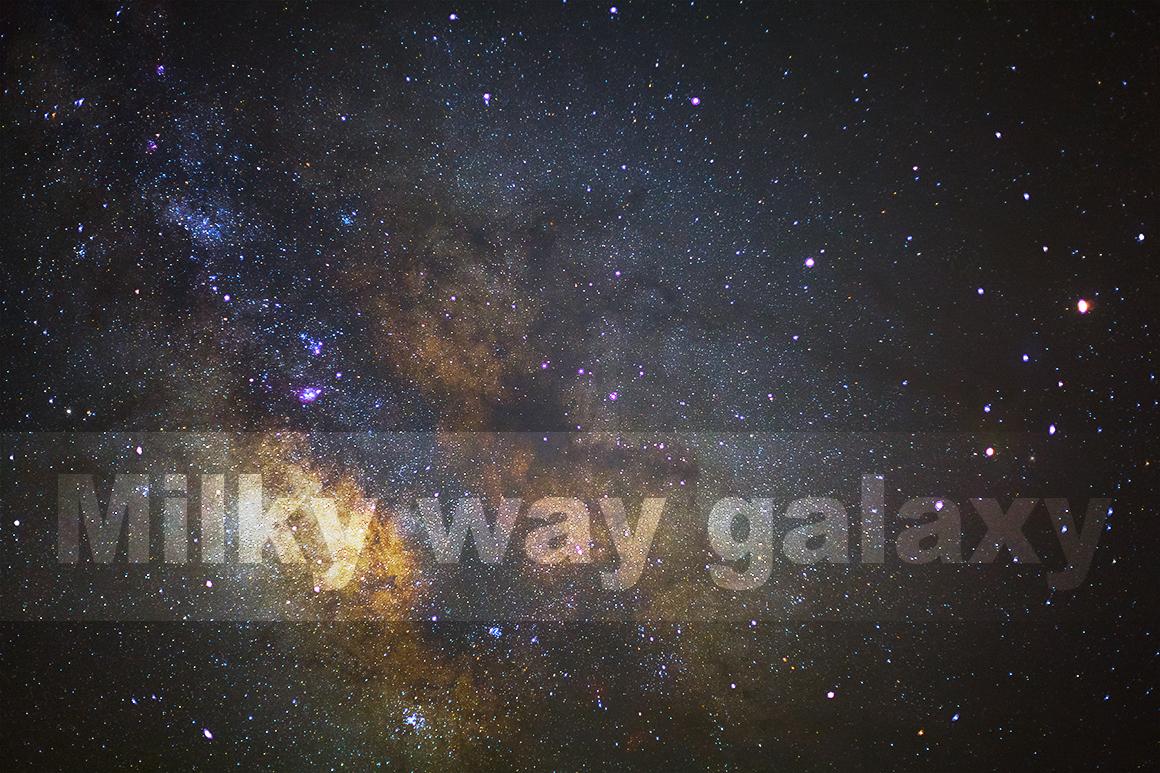 Center of milky way galaxy example image 1