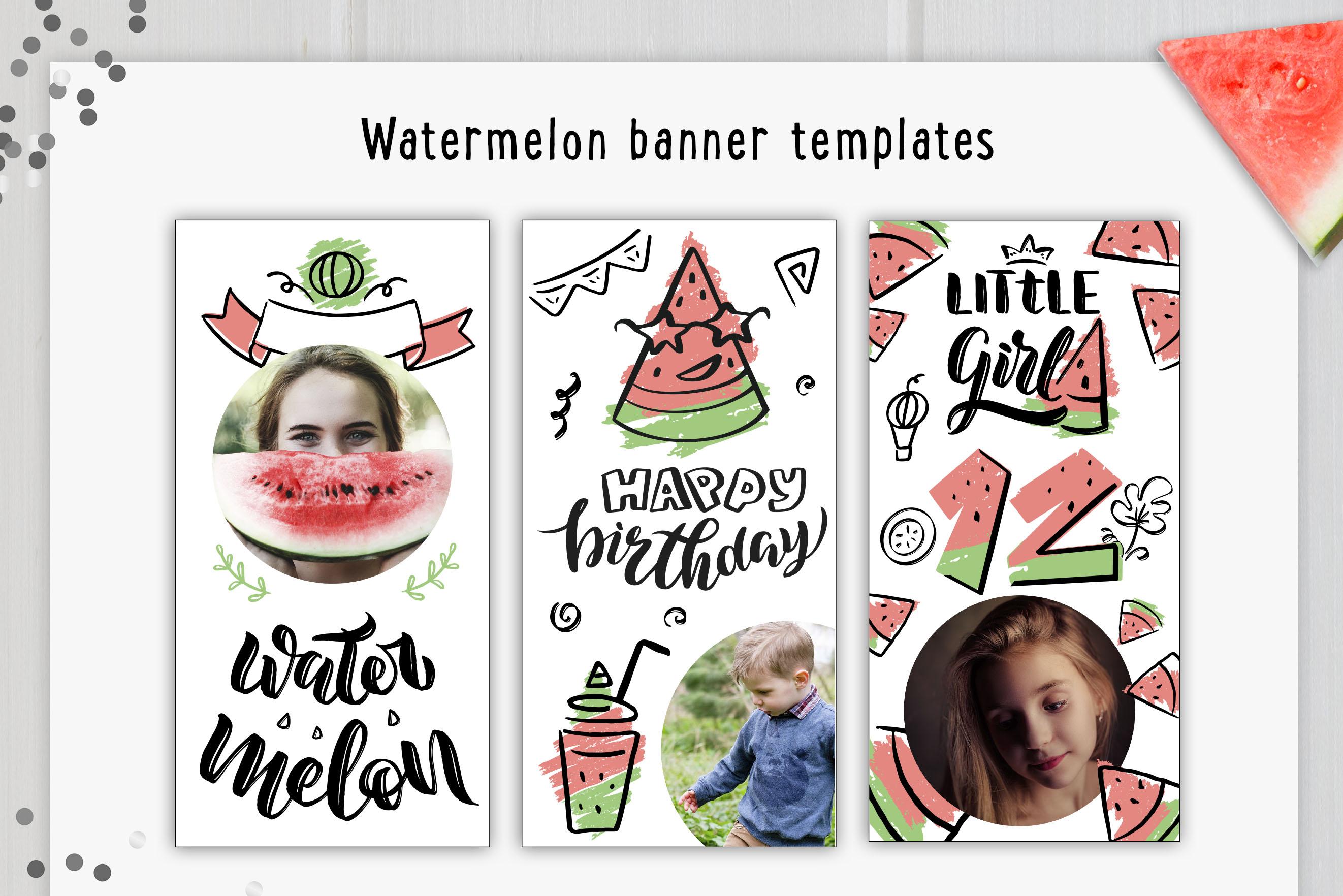 B-day celebration handlettered set example image 8