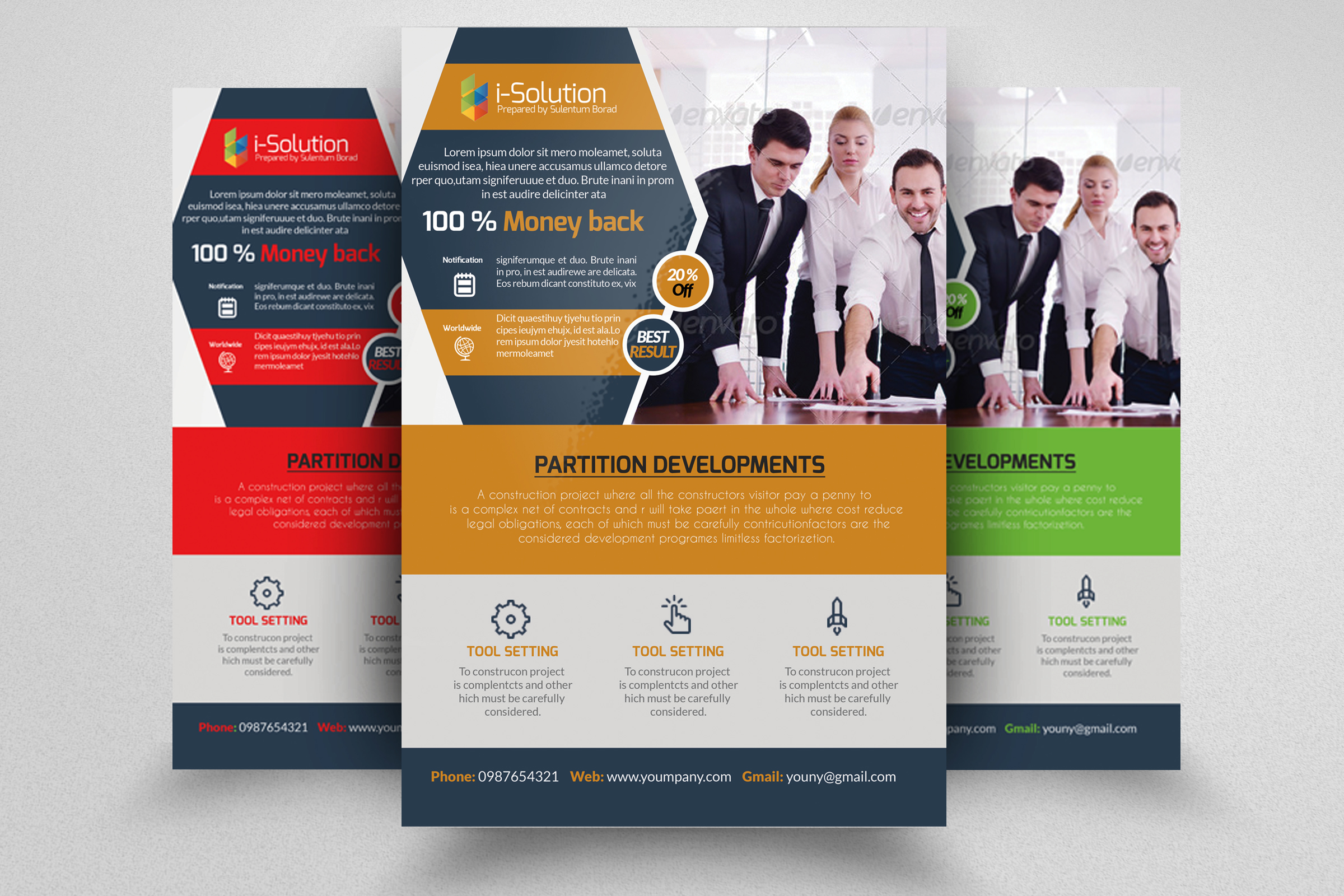 7 Corporate Business Flyers Bundle example image 8