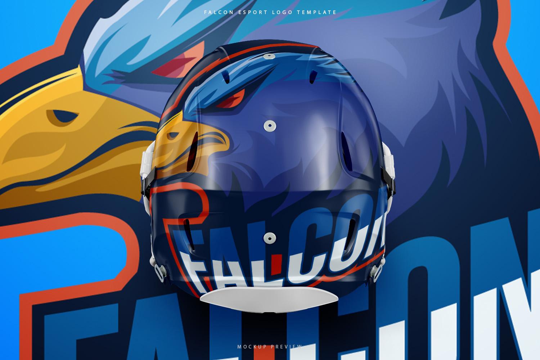Falcon Eagle Esport Logo Design example image 3
