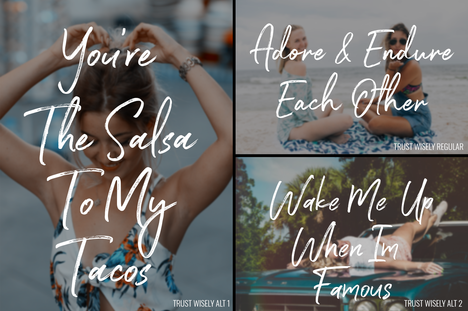 50 OFF - Trust Wisely Font example image 4