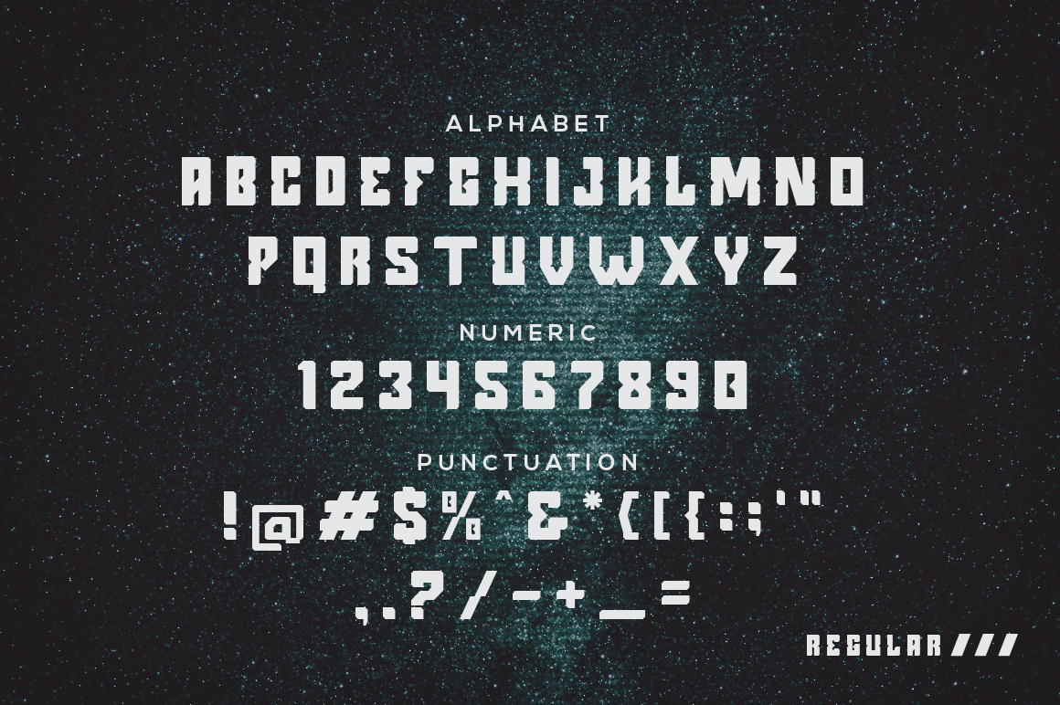 Argenos - Futuristic Font example image 4