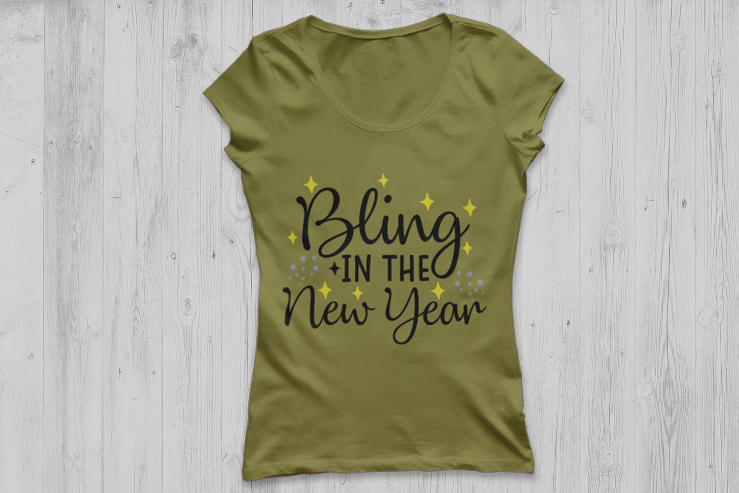 bling in the new year svg, new years eve svg, new years svg. example image 3
