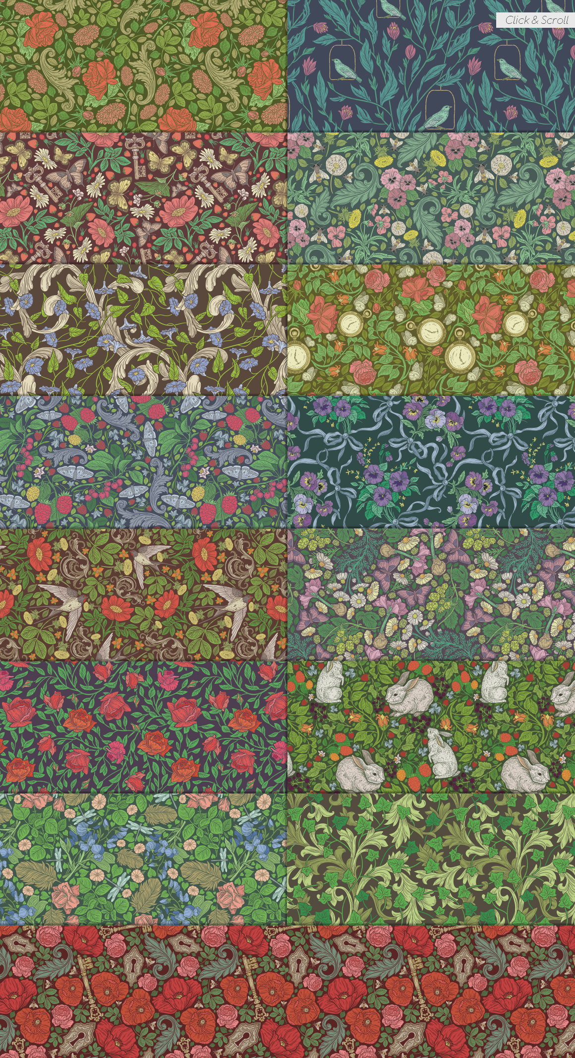 English Backyard patterns example image 3