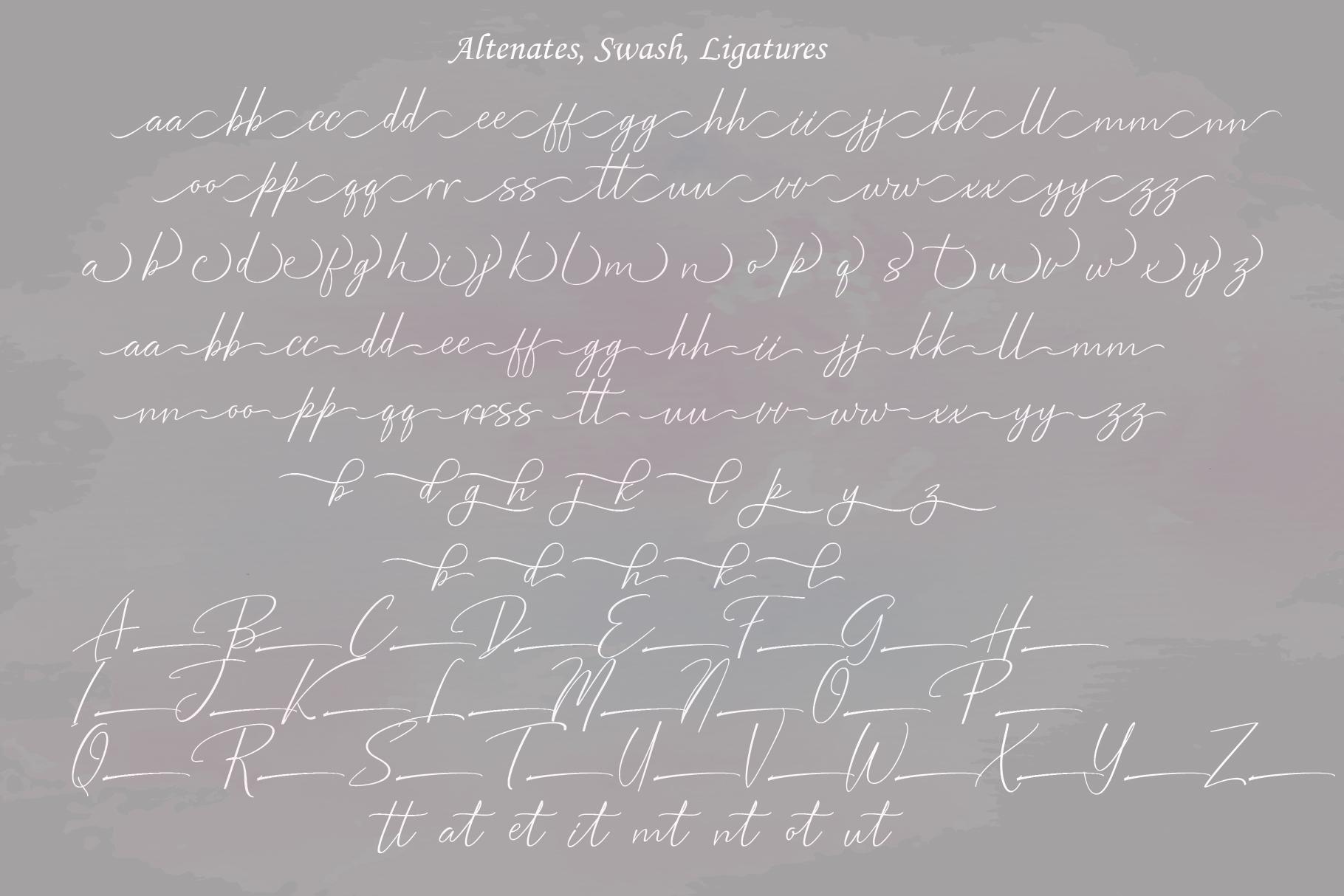 Bentosa Script example image 8