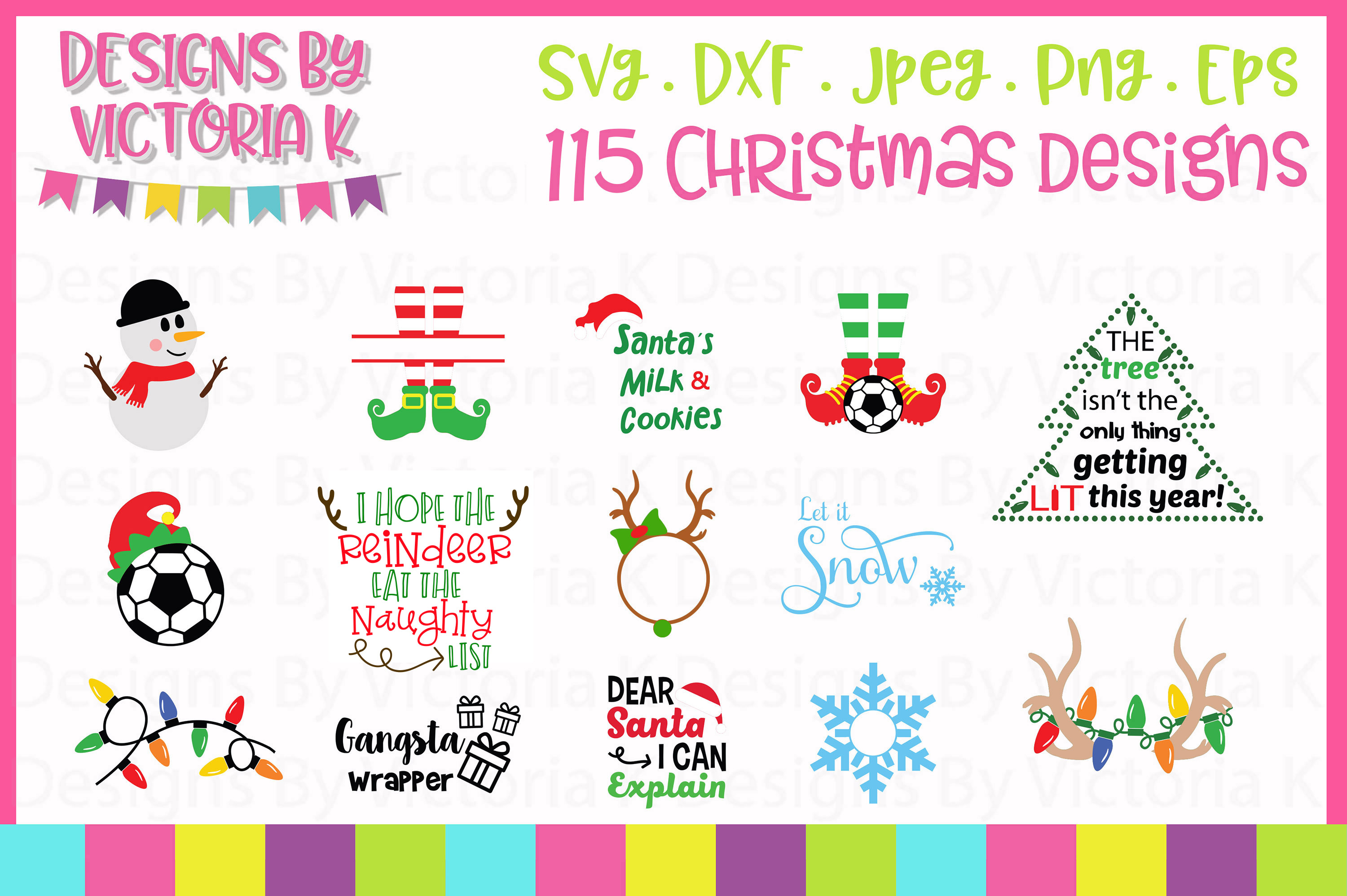 Christmas Bundle SVG Cut Files example image 5