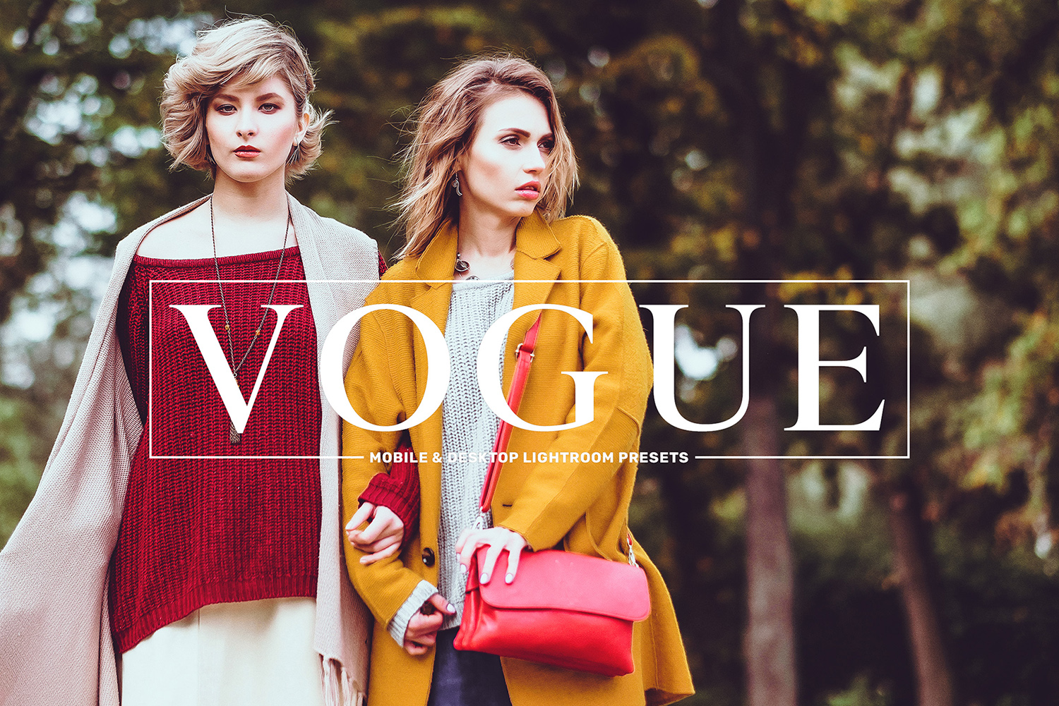 Vogue Mobile & Desktop Lightroom Presets Collection example image 1